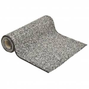 vidaXL Vložka s dizajnom kameňa sivá 1000x40 cm