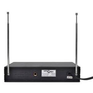 vidaXL 2 bezdrôtové mikrofóny VHF s prijímačom