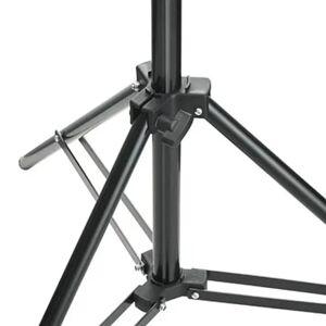 vidaXL Stojan na svetlo, výška 78-210 cm
