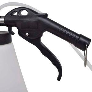 vidaXL Pneumatická odsávačka brzdového oleja