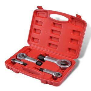 vidaXL Sada 4 ks štiepačov skrutiek 9mm-27mm odstraňovanie okrúhlych skrutiek
