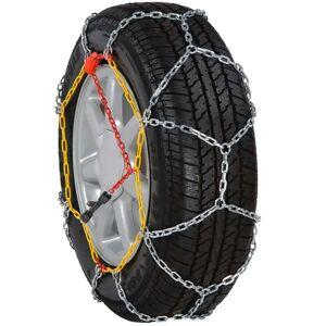vidaXL 2 ks snehových reťazí na pneumatiky, 12 mm, KN 60