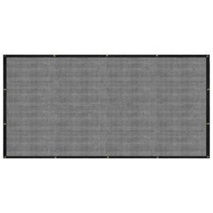 vidaXL Sieť na prívesný vozík čierna 2x3,5 m HDPE