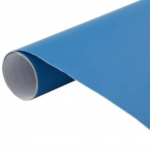 vidaXL Fólia na automobily matná modrá 200x152 cm