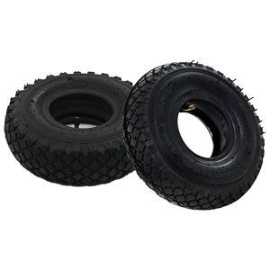 vidaXL 2 pneumatiky pre nakladací vozík a 2 duše 3.00-4 260x85