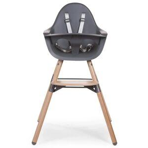 CHILDHOME Detská stolička 2-v-1 Evolu 2, antracitová CHEVOCHNA
