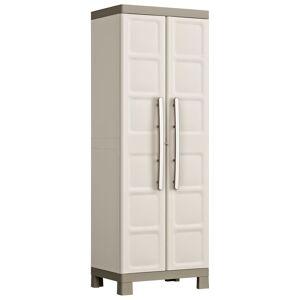 Keter Viacúčelová skladovacia skrinka Excellence, čierno sivá 182 cm