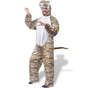 vidaXL Kostým na karneval - tiger, veľkosť M-L