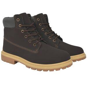 vidaXL Pánske topánky, veľkosť 41, hnedé