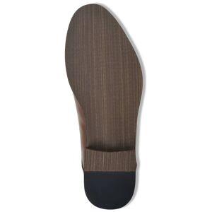 vidaXL Pánske šnurovacie členkové topánky, hnedé, veľkosť 44, PU koža