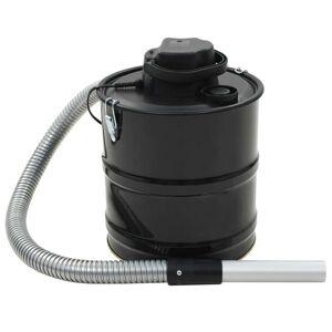 vidaXL Vysávač na popol s HEPA filtrom čierny 1000 W 20 l