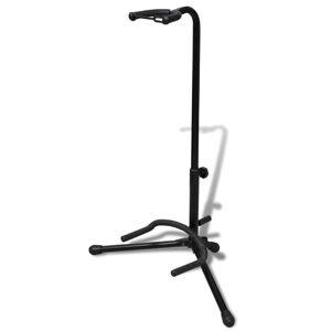vidaXL 70033 Nastaviteľný stojan na jednu gitaru, skladateľný