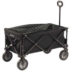 Outwell Skladací vozík čierny 470334 Cancun Transporter