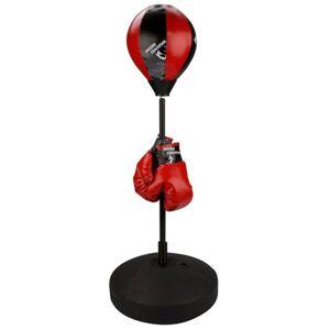 Avento junior odrazová boxovacia lopta čierna/červená 41BE