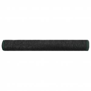 vidaXL Tenisová sieť čierna 1,2x25 m HDPE