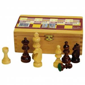 Abbey Game Šachové figúrky 87 mm čierne/biele 49CL