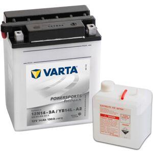 Varta batéria do motocykla, Powersports Freshpack YB14L-A2