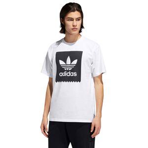Adidas Tričko Adidas Solid BB white/black