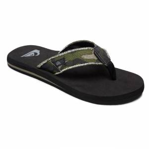 Quiksilver Žabky Quiksilver Monkey Abyss green/brown/black
