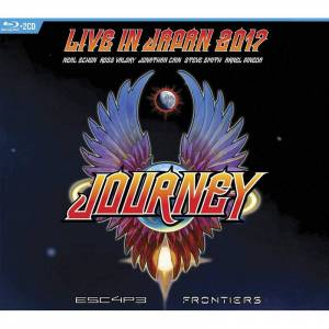 Blu-ray JOURNEY - ESCAPE & FRONTIERS.../CD