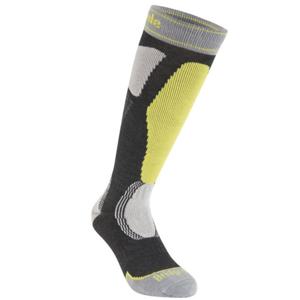 bridgedale Ponožky Bridgedale Ski Easy On graphite/lime/140