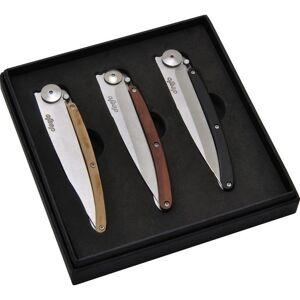 Deejo sada 3 nožov Wood 27G, DEE002