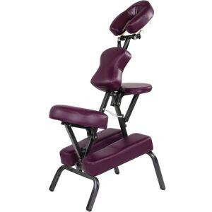 MOVIT Masážne stoličky MOVIT skladacie vínová 8,5 kg