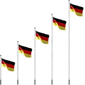 FLAGMASTER® Vlajkový stožiar vrátane vlajky Taliansko - 650 cm