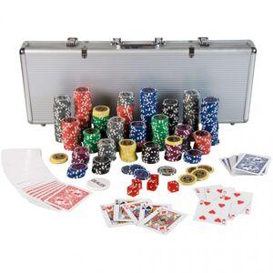 GamesPlanet® OEM M01212 Poker Set - 500 laserových žetónov Ultimate