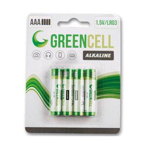 Marimex Mikrotužkové batérie  GreenCell AAA - 4 ks