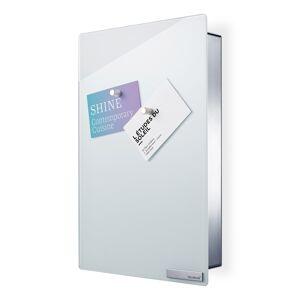 Blomus Skrinka na kľúče s magnetickými dvierkami 30 x 20 cm VELIO biela Blomus