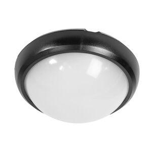 LED Solution Čierné LED stropné/nástenné svietidlo 8W IP66 1260