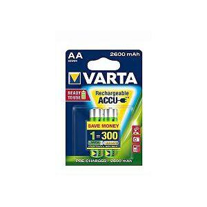 Ostatní VARTA Baterie Rechargeable Accu AA 2600 mAh R2U 2ks