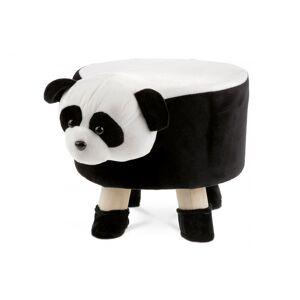 Autronic Taburet LA látka / drevo Autronic Panda