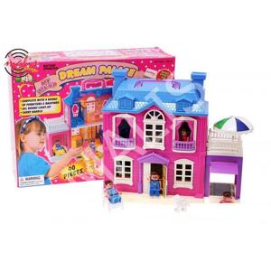Toys Group Domček pre bábiky s otváracou garážou.
