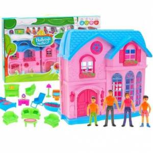 Toys Group Očarujúci domček pre bábiky s balkónom