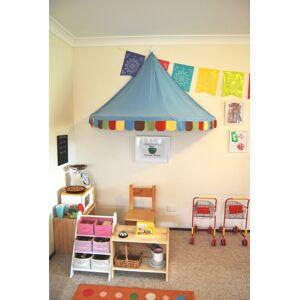 Ourbaby Baldachýn pre deti - farebný modrá