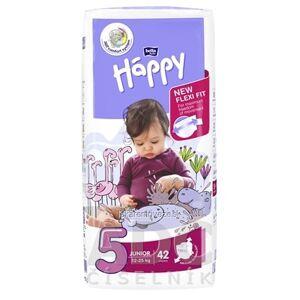 Torunskie Zaklady Materialow Opatrunkowych S.A. bella HAPPY 5 JUNIOR detské plienky (12-25 kg) 1x42 ks