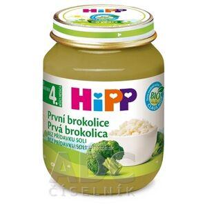 Hipp Termelő és Kereskedelmi Kft. HIPP Príkrm Prvá brokolica zeleninový (od ukonč. 4. mesiaca) 1x125 g