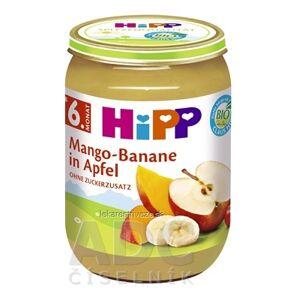 Hipp GmbH & Co. Vertrieb KG HiPP Príkrm BIO Jablka s mangom a banánmi ovocný (od ukonč. 5. mesiaca) 1x190 g