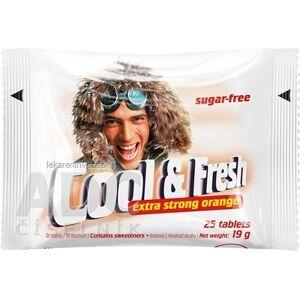 VITAR s.r.o. Cool & Fresh extra strong orange pastilky 1x25 ks
