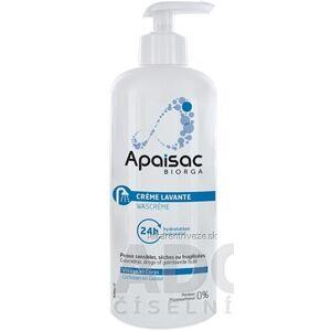 Laboratoires Bailleul S.A. Apaisac BIORGA 24h hydratačný čistiaci krém modrá rada (24h Hydratation Cleansing Cream) 1x400 ml