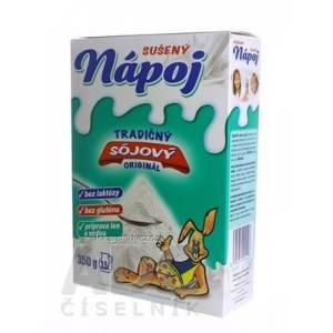 MOGADOR s.r.o. SÓJOVÝ SUŠENÝ NÁPOJ náhradka mlieka 1x350 g