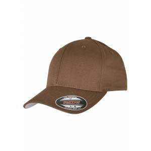 Flexfit Urban Classics Flexfit Wooly Combed coyote/brown - Youth