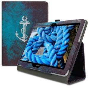 kwmobile Flipové púzdro pre Huawei MediaPad T3 10 - biela