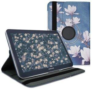 kwmobile Flipové púzdro pre Samsung Galaxy Note 10.1 N8000 - šedá