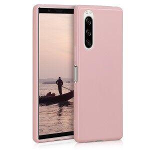 kwmobile Púzdro pre Sony Xperia 5 - ružová