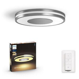 Philips Hue 32610/48 / P6 LED prisadený luster Being 1x32W   2200-6500K - Bluetooth, s diaľkovým ovládačom