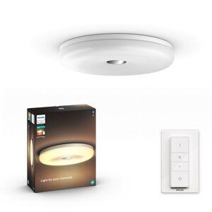 Philips Hue 33064/31 / P6 LED stropné kúpeľňové svietidlo Struan 1x32W   2400lm   2200-6500K - White Ambience