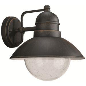 Philips vonkajšie nástenné svietidlo lampa Philips Massive 17237/86/10 - hrdzavá
